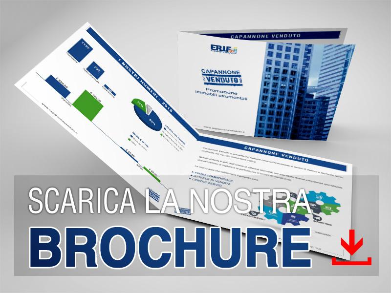 Scarica la brochure ufficiale di Capannone Venduto !